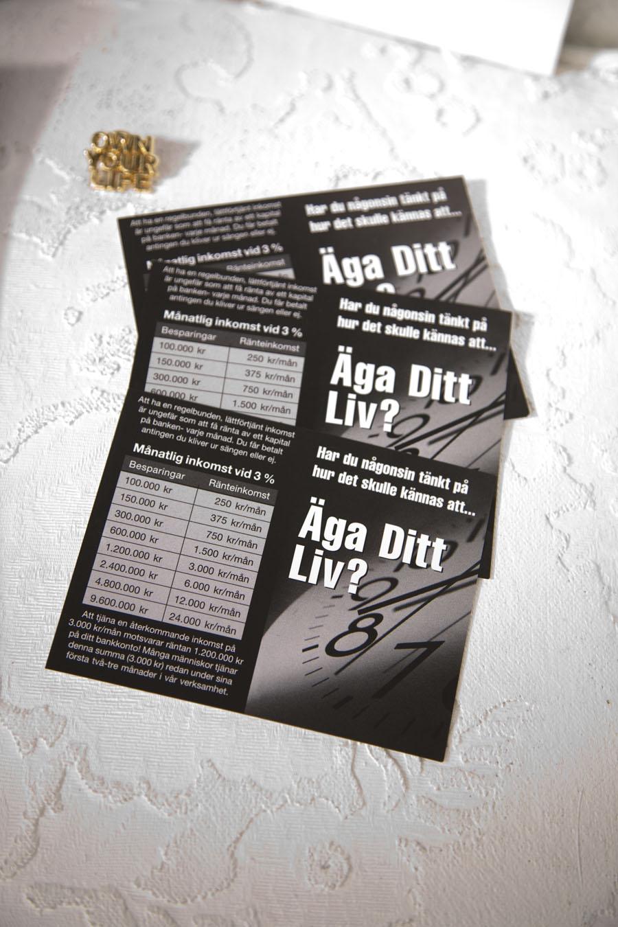 Presentationskort och Pin